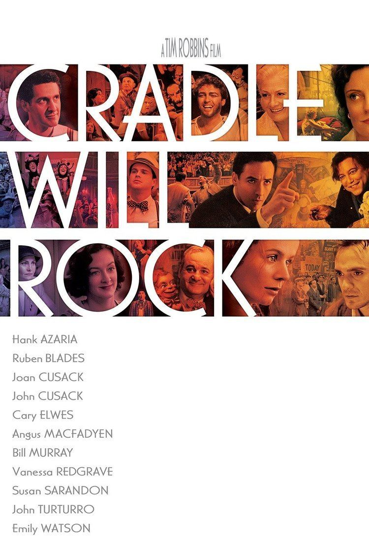 Cradle Will Rock wwwgstaticcomtvthumbmovieposters23237p23237