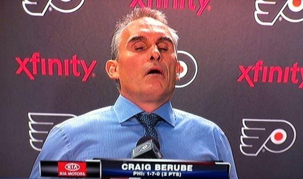 Craig Berube The Flyers Have Fired Craig Berube