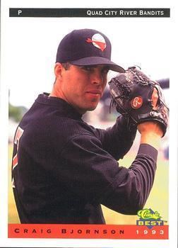 Craig Bjornson 1993 Classic Best Quad City River Bandits Baseball Gallery The