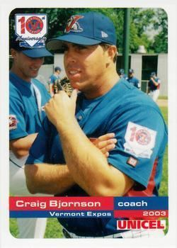 Craig Bjornson Craig Bjornson Gallery The Trading Card Database