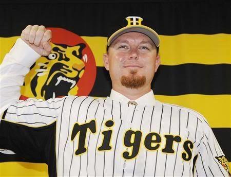 Craig Brazell Hanshin Tigers sign Craig Brazell Blogs SimCentralNET