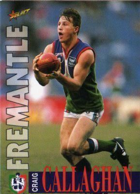 Craig Callaghan Australian Football Craig Callaghan Player Bio