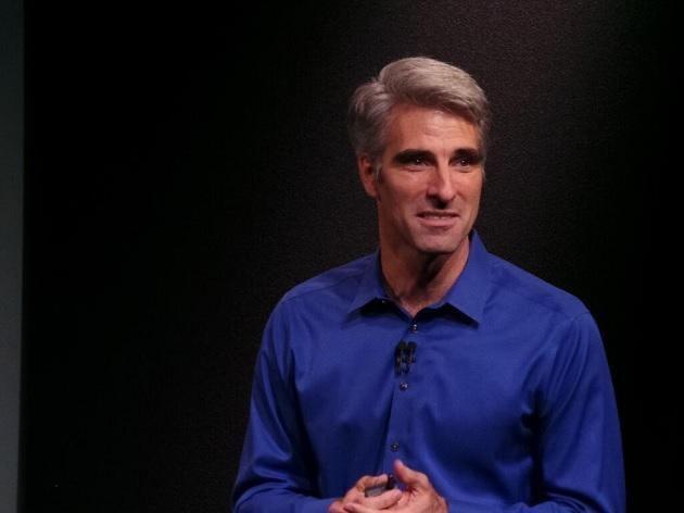Craig Federighi Apple Unveils New iPhones Slide 11 Slideshow from