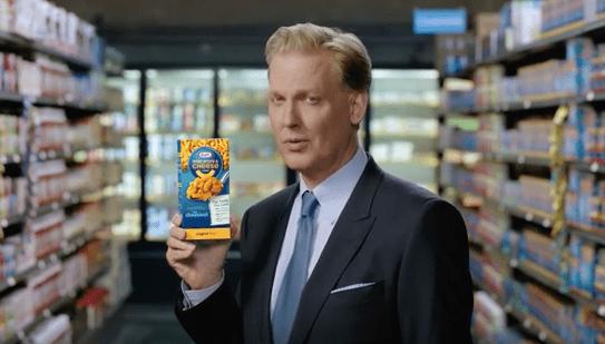 Craig Kilborn Craig Kilborn is BACK selling macaroni and cheese