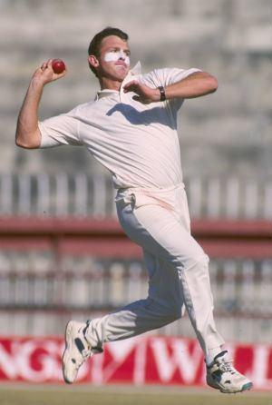 World Cup 1987 semifinal Craig McDermott shatters Imran Khans