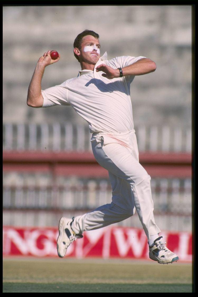Craig McDermott (Cricketer) playing cricket