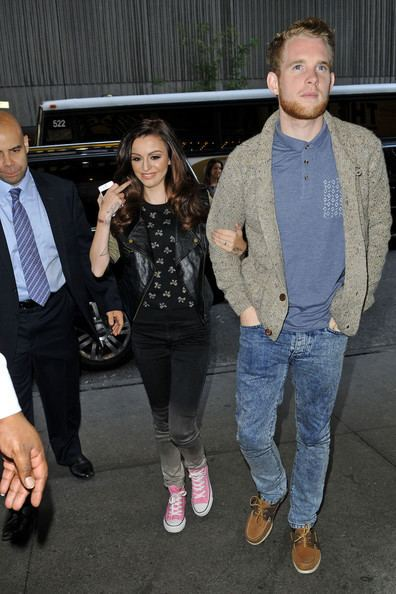 Craig Monk Craig Monk Photos Photos Cher Lloyd and Craig Monk at the Today