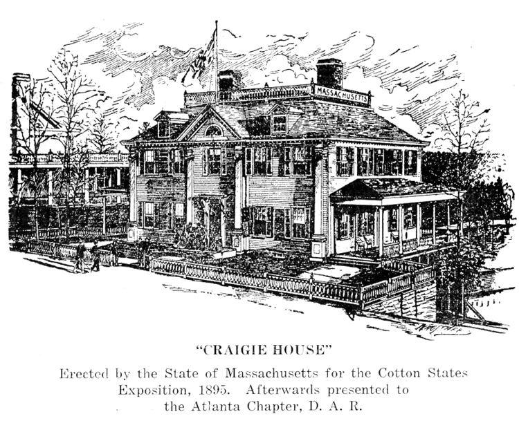 Craigie House tomitronicscomoldbuildingsDARhouseCraigieHous
