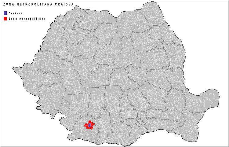 Craiova metropolitan area