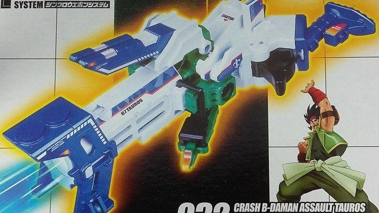 Crash B-Daman LET39S BUILD Crash BDaman Assault Tauros YouTube