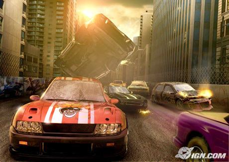 Crash 'n' Burn (2004 video game) Crash 39N39 Burn IGN