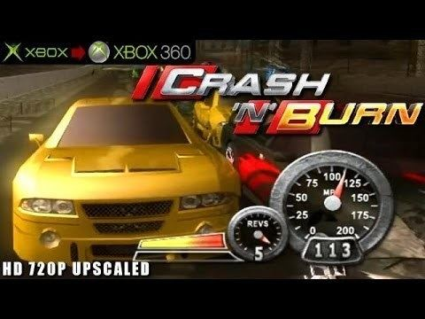 Crash 'n' Burn (2004 video game) Crash 39N39 Burn Gameplay Xbox HD 720P Xbox to Xbox 360 YouTube
