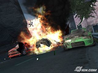 Crash 'n' Burn (2004 video game) Crash 39n39 Burn PlayStation 2 IGN