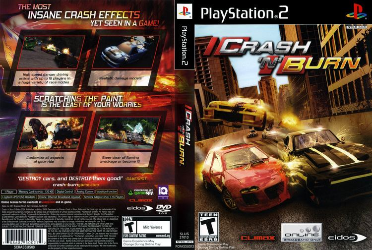 Crash 'n' Burn (2004 video game) wwwtheisozonecomimagescoverps2174jpg