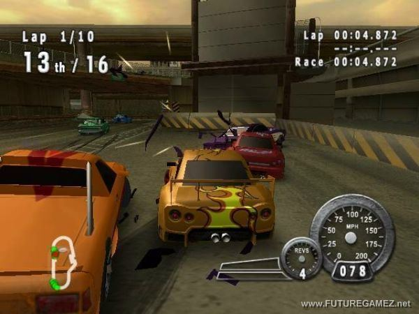Crash 'n' Burn (2004 video game) Crash n39 Burn Review FUTURE GAMEZ