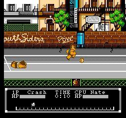 Crash 'n' the Boys: Street Challenge Crash 39n the Boys Street Challenge USA ROM lt NES ROMs Emuparadise