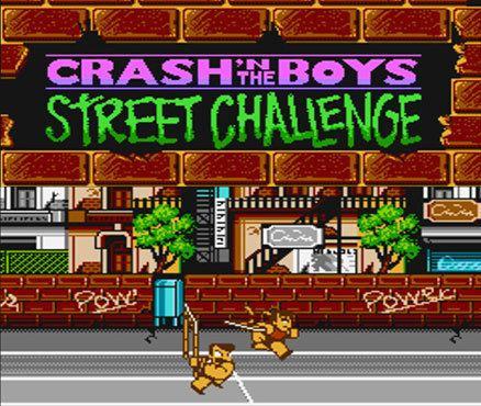 Crash 'n' the Boys: Street Challenge Crash39n the Boys Street Challenge NES Games Nintendo