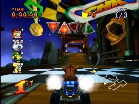Crash Nitro Kart Crash Nitro Kart PS2 Gameplay YouTube