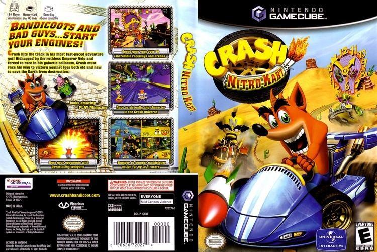 Crash Nitro Kart Crash Nitro Kart ISO lt GCN ISOs Emuparadise
