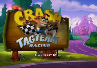 Crash Tag Team Racing Crash Tag Team Racing PlayStation 2 The Cutting Room Floor