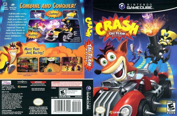Crash Tag Team Racing Crash Tag Team Racing ISO lt GCN ISOs Emuparadise