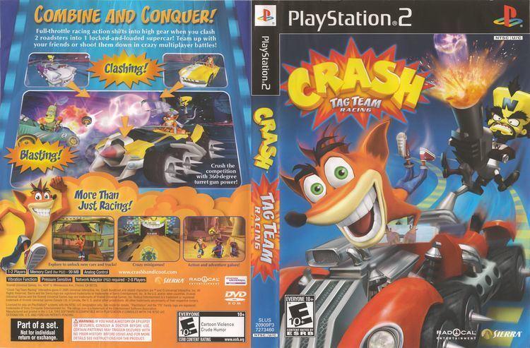 Crash Tag Team Racing wwwtheisozonecomimagescoverps21376977291jpg
