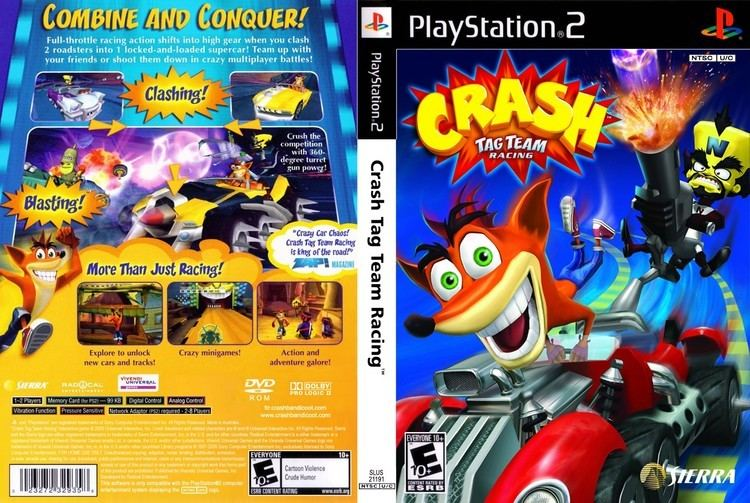 Crash Tag Team Racing Crash Tag Team Racing USA ISO lt PS2 ISOs Emuparadise