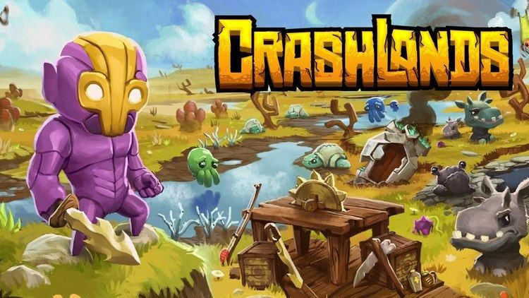 Crashlands Crashlands Official Game Trailer 1 JAN 21 2016 YouTube