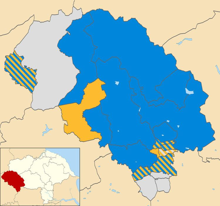Craven District Council election, 2002