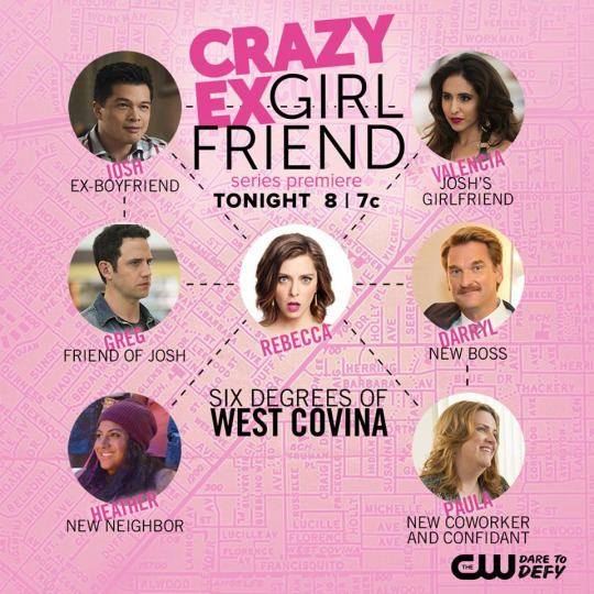 Crazy Ex-Girlfriend (TV series) Crazy ExGirlfriend39 is the TV Show the 12YearOld Me has Been