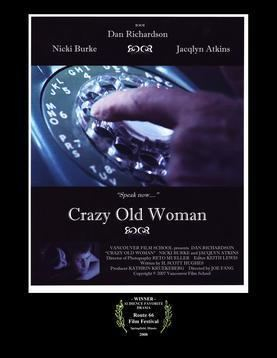 Crazy Old Woman movie poster