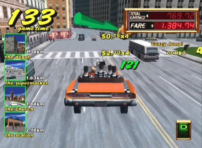 Crazy Taxi (series) crazy taxi series Archives Gamestyle