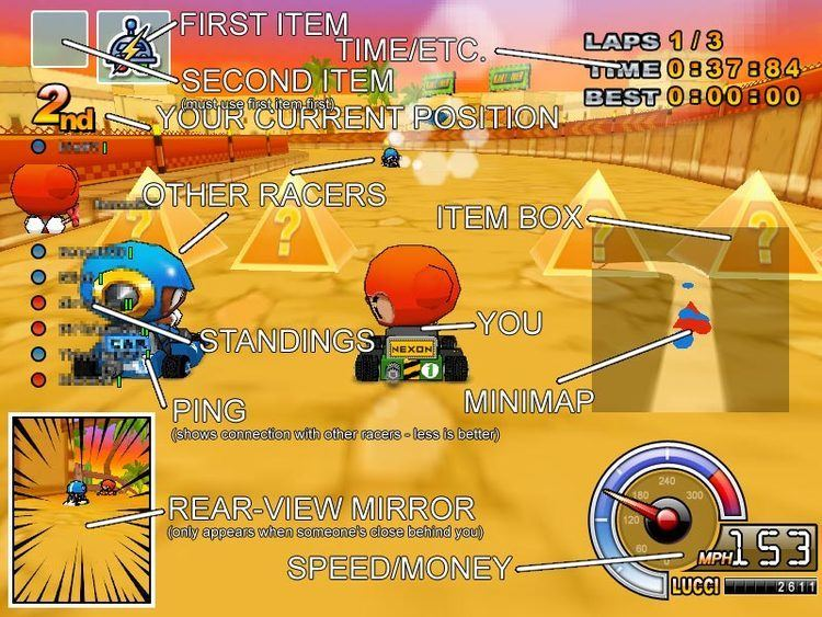 Crazyracing Kartrider Crazyracing KartriderGetting Started StrategyWiki the video game