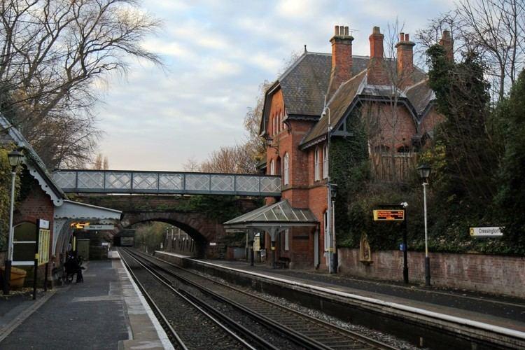 Cressington railway station