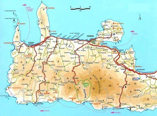 Crete Tourist places in Crete
