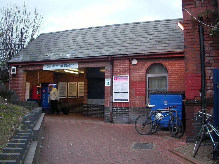 Cricklewood railway station