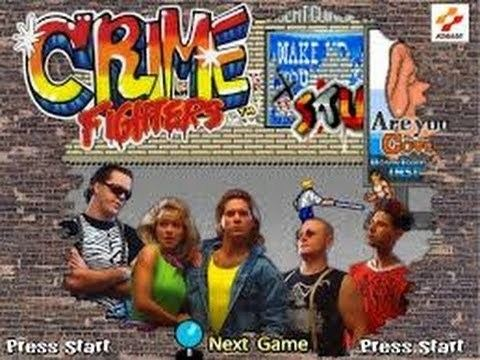 Crime Fighters Crime Fighters Arcade YouTube