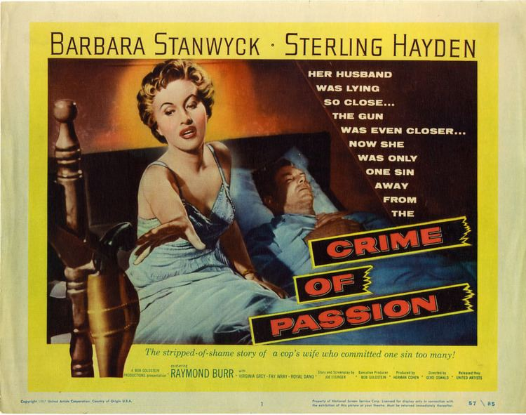 Crime of Passion (1957 film) Crime of Passion 1957