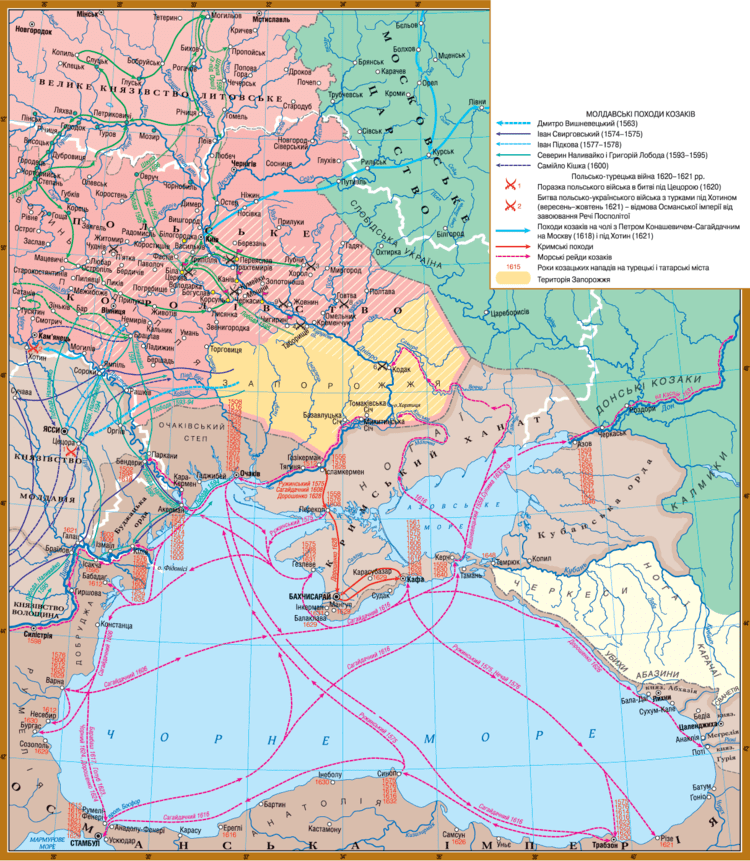 Crimean Khanate Historical and cartographic confirmation of the Crimean ties with