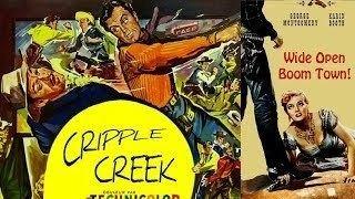Cripple Creek (film) Cripple Creek 1952 George Montgomery Karin Booth Western YouTube