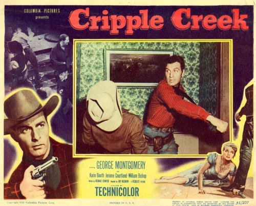 Cripple Creek (film) George Montgomery Westerns by Boyd Magers