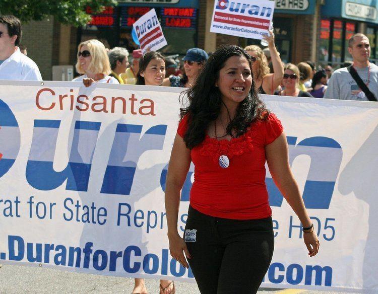 Crisanta Duran Crisanta Duran makes political Alist beyond Colorado Colorado
