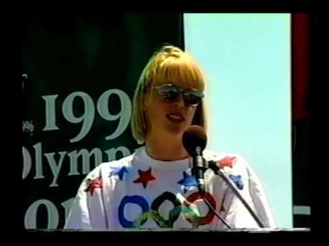 Crissy Ahmann-Leighton Olympian Crissy AhmannLeighton Speaks in Mt Pleasant Part 1 of 2
