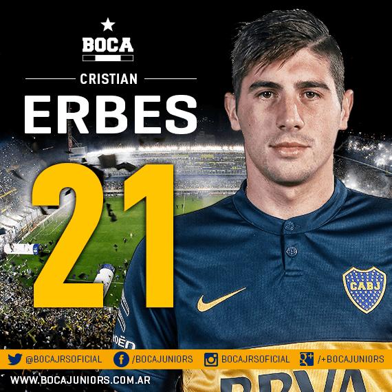 Cristian Erbes Boca Jrs Oficial on Twitter quotVolantes Fernando Gago