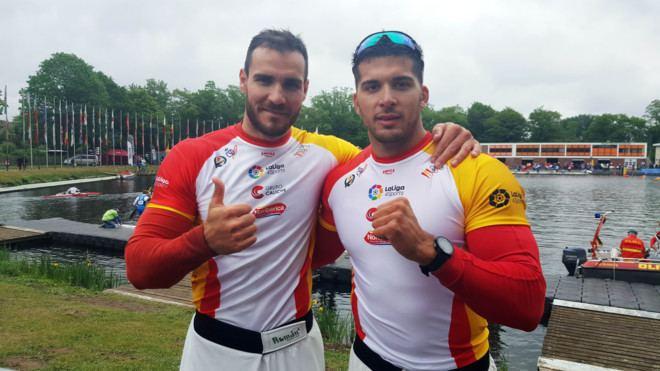 Cristian Toro Spanish athletes Sal Craviotto amp Cristian Toro sprint canoe 200m