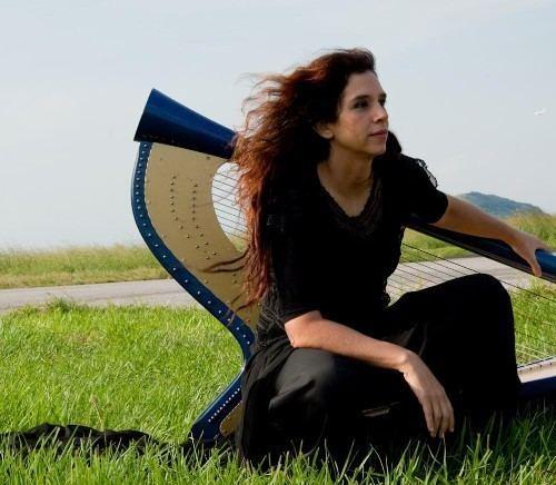 Cristina Braga Brazilian Harpist Cristina Braga Explores Samba Jazz and