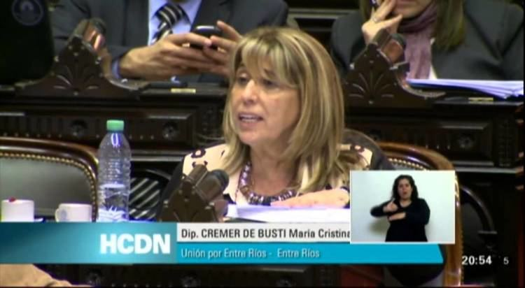 Cristina Cremer de Busti Dip Mara Cristina Cremer de Busti Sesin Especial 23092015