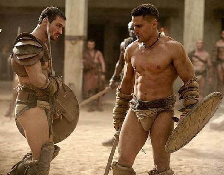 Crixus Spartacus Crixus Gladiators Pinterest Spartacus TVs and Tv