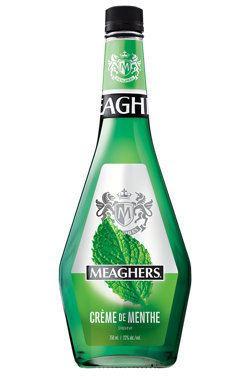 Crème de menthe Meaghers Crme de menthe verte Mint liqueur 00196287 SAQcom