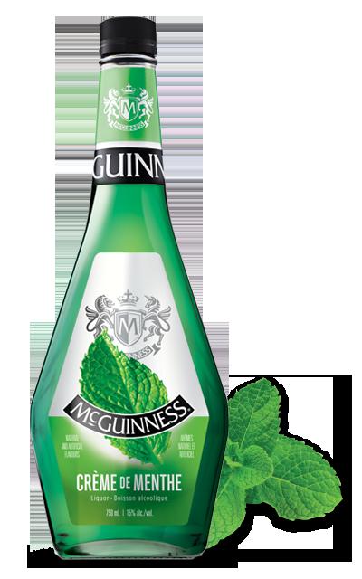 Crème de menthe Crme de Menthe Green McGuinness Liqueurs